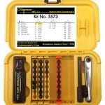 Chapman MFG 5573 SAE & Metric Allen Hex Mini Ratchet & Screwdriver Set Made in USA Phillips, Slotted & Allen Hex