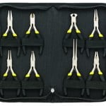 General Tools & Instruments 938 Technician's Mini Plier Set, 8-Piece