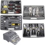 GHP Set of 99pcs Mixed Mechanics Tools for Vehicle Repair Workshop