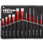 TEKTON 67381 Cold Chisel and Punch Set, 12-Piece